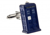 TARDIS Dr Who cufflinks Mens Jewellery