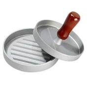 TOOGOO(R) Red Handle Hamburger Presses Patties Maker Kitchen Tools Hamburger Grill Plate