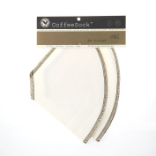 CoffeeSock #6 Cone filter 2 pack - Organic Cotton - Made in USA