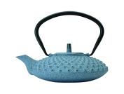 Berghoff 0.8 Litre Studio Cast Iron Teapot, Blue