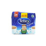 Tetley - Original Tea Bags 80 - 250g