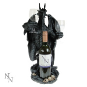 Dragon Wine Guardian 50cm - Wine Bottle and Glass Holder