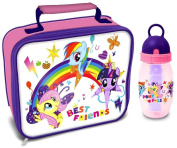 My Little Pony 'Best Friends' Lunch Bag/Box and Freeze Stick Bottle