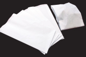 1000 x Hot Food White Bag Large 180+60x350mm