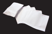 1000 x Hot Food White Bag Small 180+60x170mm