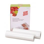 10m of Vacuum Food Bag Rolls Food Saver Sealer Bag Rolls 22cmx5m x2