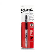 Sharpie Retractable Ultra Fine Point Permanent Markers, 1 Black Marker