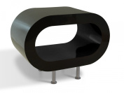 Retro Black Gloss Hoop Coffee Table / TV Stand in Various Sizes