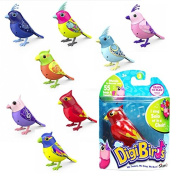 SILVERLIT DIGBIRDS WITH WHISTLE RING SING TWEET MOVE OFFICIAL BIRDS TOY