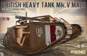 Meng Model 1:35 - British Heavy Tank Mk V Male -