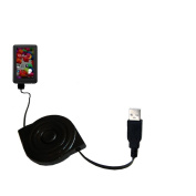 USB Power Port Ready retractable USB charge USB cable wired specifically for the Cowon X7 and uses TipExchange