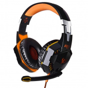KingTop EACH G2000 Over-ear Game Gaming Headphone Headset Earphone Headband with Mic Stereo Bass LED Light for PC Game