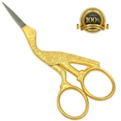 High Quality Full Yellow Embroidery Scissors And Cross Stitch Sewing
