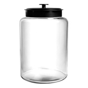 Anchor Hocking 9.5l Montana Jar with Black Metal Lid