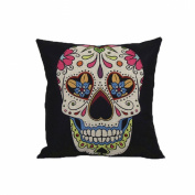 Malloom® Vintage Skull Pillowcover Skull Cushion New