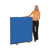 Office Screen 1200mm w x 1200mm h, nyloop fabric Blueberry