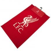 Liverpool Crest bedroom rug mat