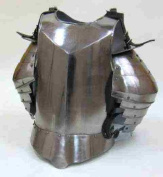 Recreation Mediaeval Armour - Breastplate, Shoulders, and Upper Arm Protection - Wearable Costume Armour