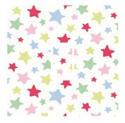 Colourful Stars Vinyl Light Switch Cover Sticker