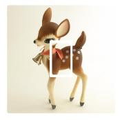 Vintage Cute Deer Vinyl Light Switch Cover Sticker