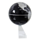 15cm Rotating Auto-Spinning Globe Earth Map Christmas Valentine Gift Home Office Décor Silver
