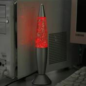 NEW USB/AC Lava Lamp Fashion Multi Colour Changing LED Glitter Light