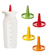 Condiment dispenser PRESTO 250 ml,4nozz.