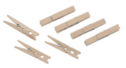 Pack of 50 Small Wooden Clothes Pegs for Washing Lines Airers etc