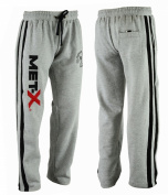 Men's Fleece Joggers Track Suit Bottom Jogging Exercise Fitness Boxing MMA Gym Sweat Fleece Trousers MX MW Grey