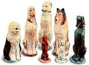 Make Your Own Chess Sets With These 9 x Supercast Dogs Chess set latex moulds