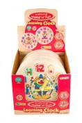 Wooden Clown Clock Puzzle D60065
