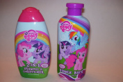 My Little Pony Bath Scented 2-in-1 Shampoo and Conditioner and Bubble Bath Set