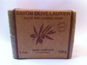 Marius Fabre Olive Oil Aleppo Bar Soap, Olive & Laurel Oil 150g 160ml
