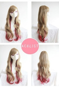 ACELIST® 60cm High Quality New Women's Fashion Long Full Curly Wavy Glamour Hair Wig + Wig Cap