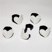 Girls Baby Toddler Mini Hair Clips, Barrettes+free Top-ishop Cable Tie