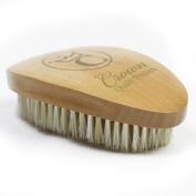 Crown Quality Products Premium Medium-Hard 360 Gold Wave Brush