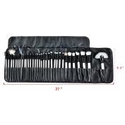 Hotrose® 32 Pcs Professional Makeup Brush Set with a Free PU Leather Bag