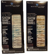 Maybelline Colour Show Fashion Prints Nail Stickers Frayed Foils and Golden Distress