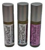FlexiNail Fingernail Conditioner with BONUS FREE FlexiNail Cuticle (3 bottles total