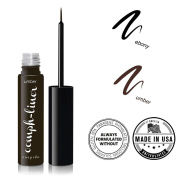 """CUEPIDO """"Oomph-liner"""" HEALTHY WATERPROOF LIQUID EYELINER with Precise Eye Liner Brush (BROWN) ♥ Extra Long-lasting Long-wearing Power ♥ Rich Colour to Create Big Eyes ♥ Specially Formulated to be SAFE and HEALTHY â .."""