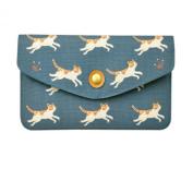 Women Lady Fashion Print Multi Pocket Card Holder Wallet Evening Clutch Purse Handbag