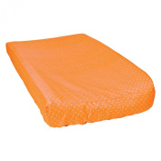 Trend Lab Dot Changing Pad Cover, Orange