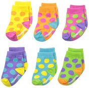 Trumpette Baby-Girls Newborn Bright Dots Socks by Trumpette