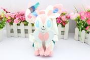 25cm 1pcs/set Pokemon Eevee Sylveon Figure Soft Stuffed Animal Plush Toy