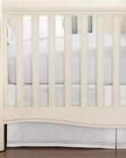 Hudson Park Collection Percale Baby Crib Skirt - Sunshine