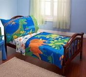 Everything for Kids Dinosaurs 4-Piece Toddler Bedding Set