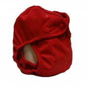 Kissa's Waterproof Nappy Cover, Red