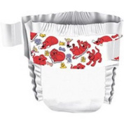 Curity Ultra Fits Baby Nappies 1 Small 3.6-5.4kg.
