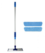 41cm Professional Commercial Microfiber Mop With Two 41cm Microfiber Mop Pads and Aluminium Mop Frame and Handle
