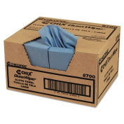 CHI8700 - Durawipe General Purpose Towels, 12quot; X 13 1/2quot;, Blue, Creped